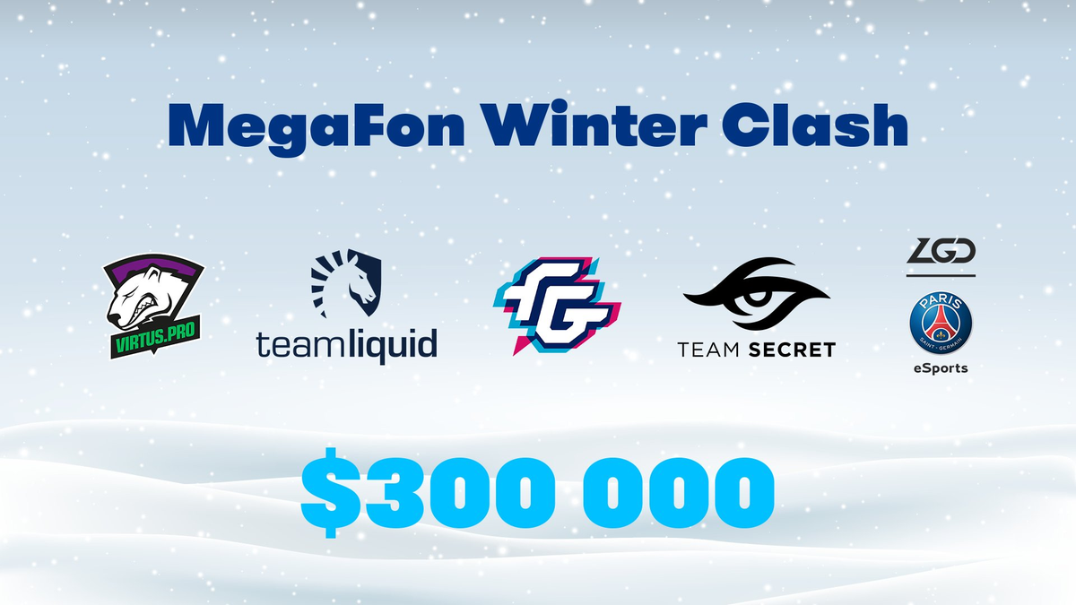 MegaFon Winter Clash Closed Qualifier